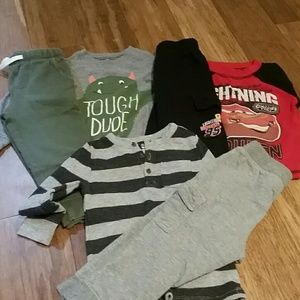 3 size 2t boys outfits